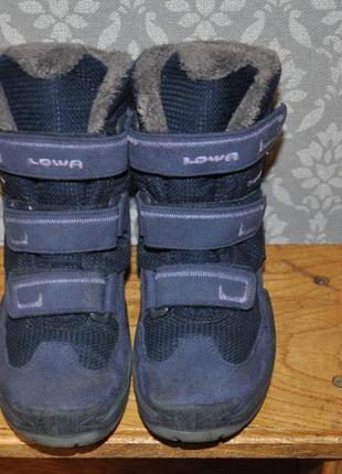 Зимние ботинки lowa gore tex