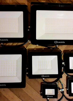 Прожектор світлодіодний 10 - 200W LED светодиодный LECTRIS