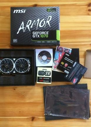 MSI GeForce GTX 1070 Armor OC 8GB GDDR5 (256bit)