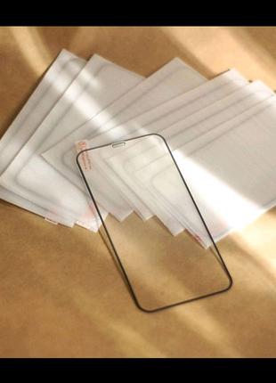 Защитное стекло на iPhone X Xs Xr 11 pro 12 pro