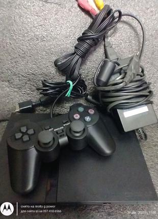Игровая приставка Sony Playstation 2 PS2 чипованная