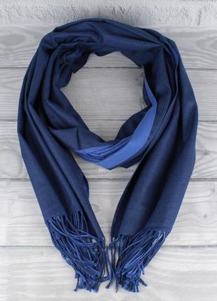Двусторонний кашемировый шарф, палантин cashmere 7280-4 электр...