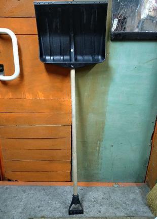 Лопата совковая подборная для уборки снега или сыпучих