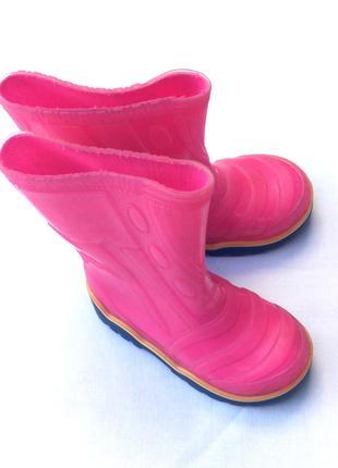Сапоги резиновые Литма – девочке размер 25, стелька 15,7 см