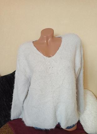 Шикарный свитер atmosphere, теплый свитер оверсайз