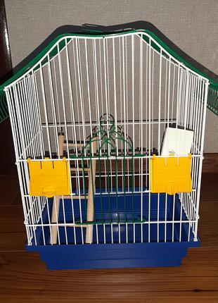 Клетка для попугая + Подарок!