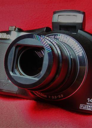 Фотоапарат Nikon L620 Coolpix  18 Мега пікселів!