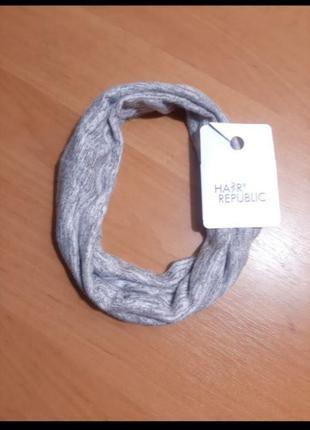 Мягкая повязка для волос на голову