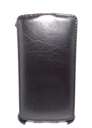 Чехол-книжка LG L FINO DUAL D295 BRUM чорний