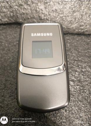 Мобильный телефон Samsung SGH-B320 раскладушка жабка
