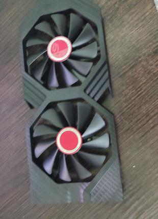 Вентилятор, кулер XFX,для видеокарты RX 580, 570 - 95 мм,