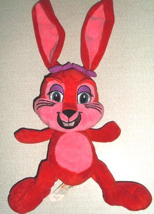 Заяц Зайка Зайчик  Мягкая игрушка–трансформер Migros