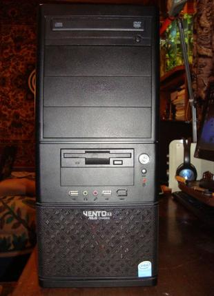 Системный блок Biostar Intel Xeon E5420 4х 2.50GHz, 500GB.