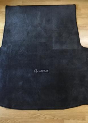 Lexus LS460 ковёр багажника оригинал двухсторонний текстиль/резин