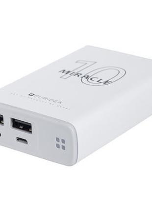 Внешний аккумулятор (Power Bank) Puridea s15 10000mAh white