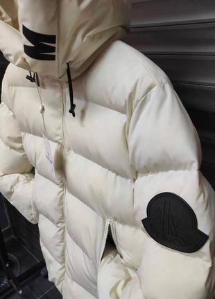 Пуховик moncler куртка зимняя утеплённая