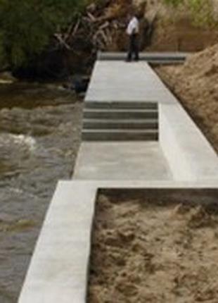 Укрепление берегов бетоном в Херсоне и области