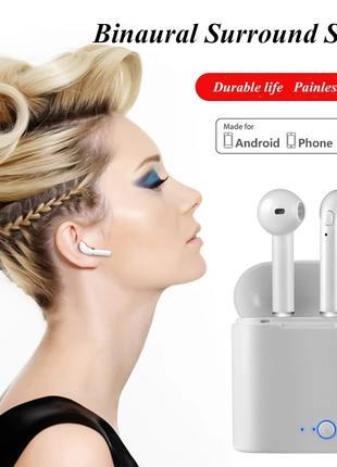 Bluetooth i7S tws гарнитура наушники