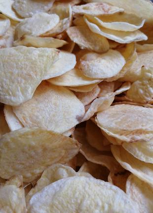 Картофельные Чипсы без масла и добавок