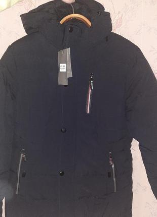 Куртка мужская зимняя на флисе