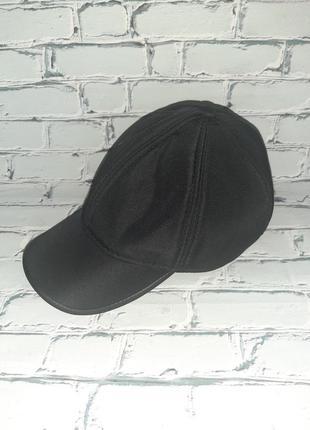 Мужская кепка с плащевки на флисе р 57-58