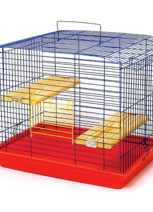 Клетка для шиншилл, кролика, морской свинки, белки Дегу Со скл...