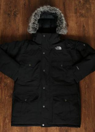 Мужская пуховая парка the north face mens hyvent mcmurdo parka