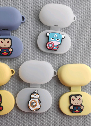 Xiaomi redmi airdots (S) чехол, кейс, защита marvel, dc,star wars