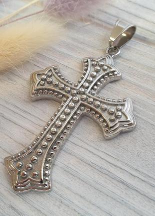 Большой крест из нержавеющей стали (медицинской) xuping jewelry