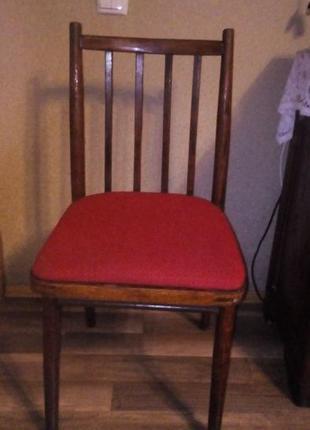 Крісла (стулья) 6 шт .б.у. дерево