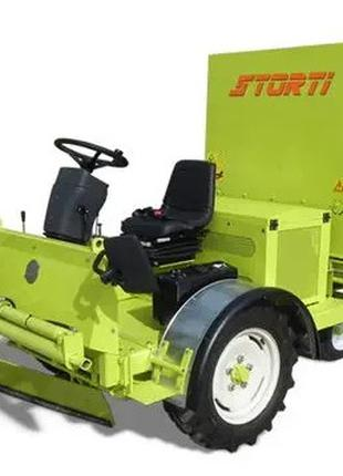 Машина для уборки и обновления постилки КРС SWEETER STORTI