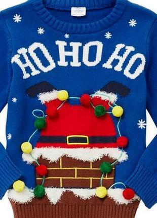 Праздничный музыкальный свитером 03-06-09мес. англия