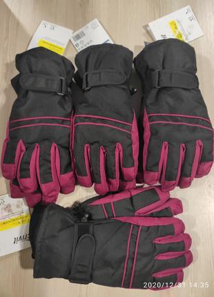 Лыжные перчатки crivit размер 7/7.5