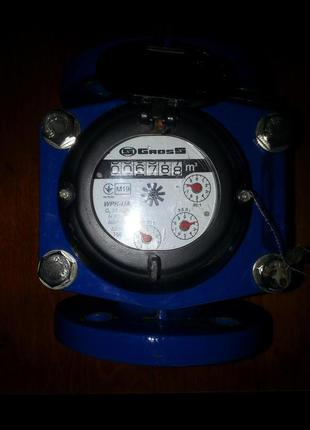 Счетчик WPK-UA Gross Ду50 турбинный фланцевый для холодной воды