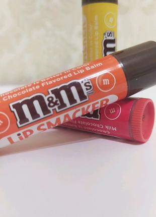 M&M's lip Smacker бальзамы для губ
