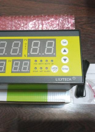 Контроллер Lilytech 7928 для инкубатора Терморегулятор