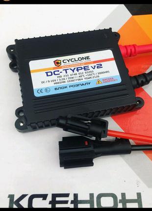 Блок розжига ксенона CyclonDC-Type Slim 35W v2