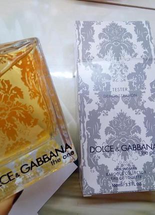 Dolce & gabbana the one,100 мл, тестер