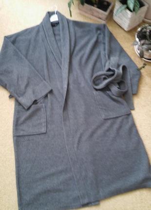 Махровый халат унисекс, большой размер