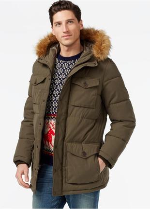 Пуховик tommy hilfiger ultra loft, куртка томми хилфигер, ориг...