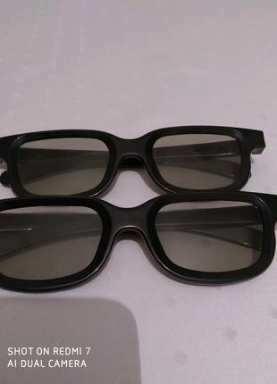 3D очки, 2штук. Для кинотеатра.