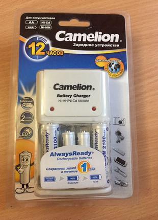 Зарядное устройство с аккумуляторами Camelion 1010