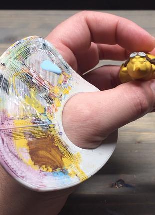 Насадка для палитры красок, для миниатюры, рисунков, раскраски