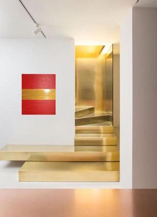 Картина Тройная полоса везения, 60х70 см, масло, живопись