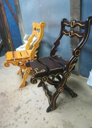Деревянные раскладные стулья