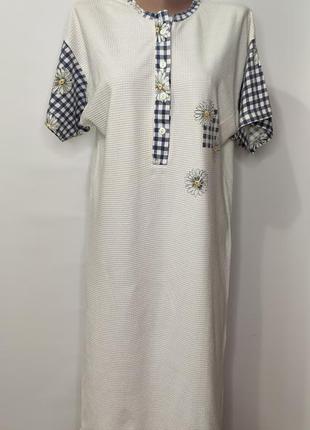 Beverly ночная рубашка, сорочка, ночнушка с коротким рукавом