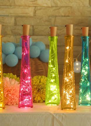 Led підсвітка декор в бутилку bottle lights