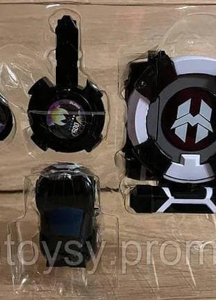 Игровой набор Часы Запускалка WatchCar Лига Вотчкар Блад и Кай