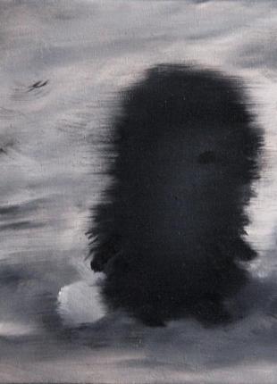 Картина Ежик в тумане 2, размер 20х20 см, масло, живопись