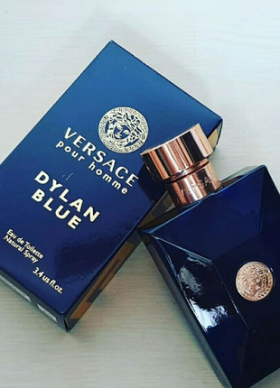 VERSACE Pour Homme Dylan Blue 100 мл Мужской парфюм